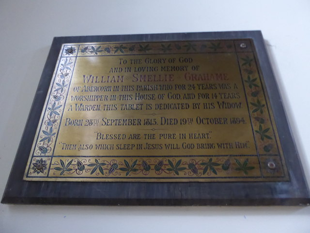 Holy Trinity, Richmond: memorial (vii)