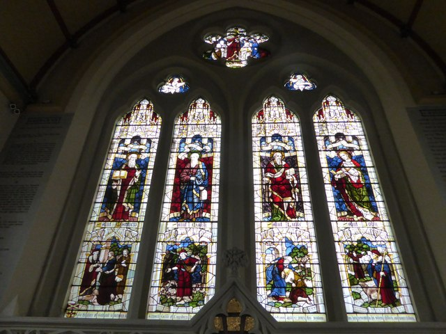 Holy Trinity, Richmond: stained glass window