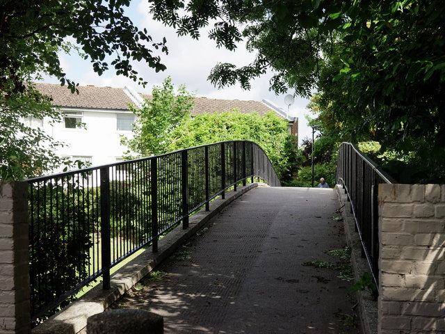 Footbridge Over Pixton Way