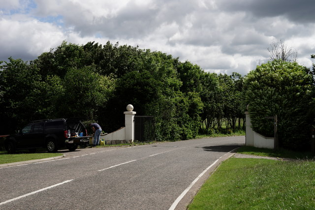 Entrance to Farleigh Court Golf Club
