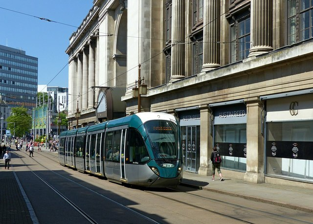 Summer in the City – Tram on Cheapside