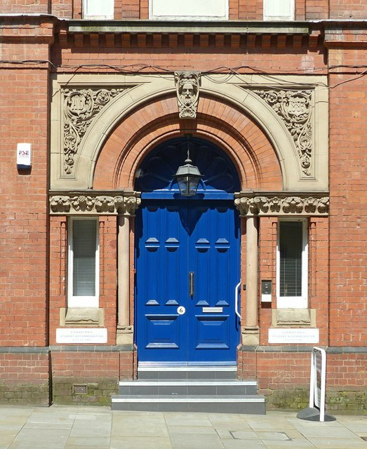 Entrance to the former Congregational Church Hall