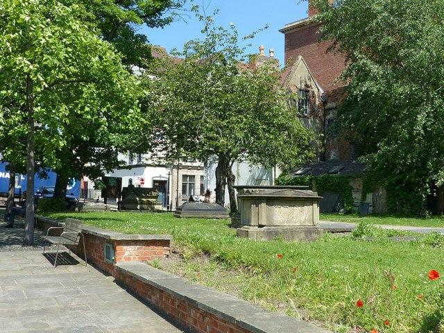 St Nicholas' churchyard, Nottingham