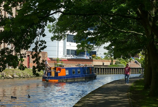 Summer in the City – Nottingham Canal (2)