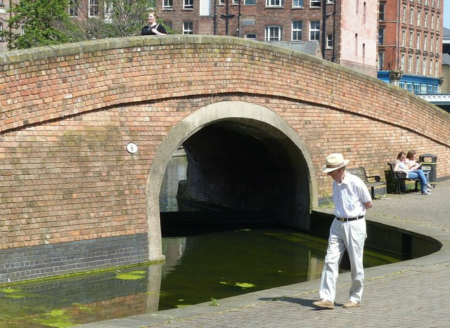 Summer in the City – Canal bridge by the Courts