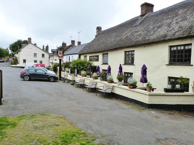 The Drewe Arms Inn, Drewsteignton, Devon