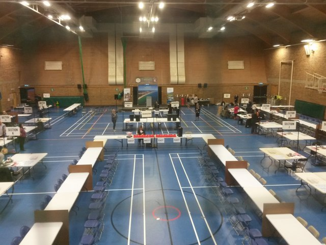 Littledown: ready for the 2017 election count