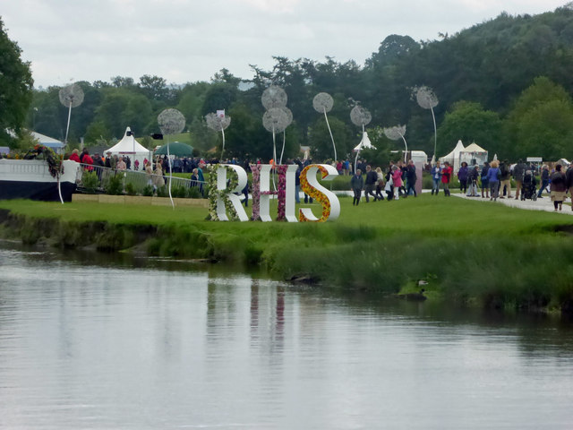RHS Chatsworth flower show.