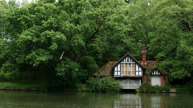 Boathouse on the River Thames