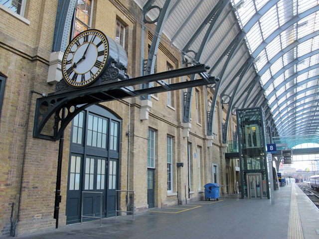 King's Cross station platform 8