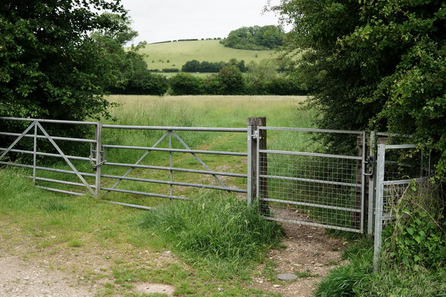 Gate at Lower Basildon