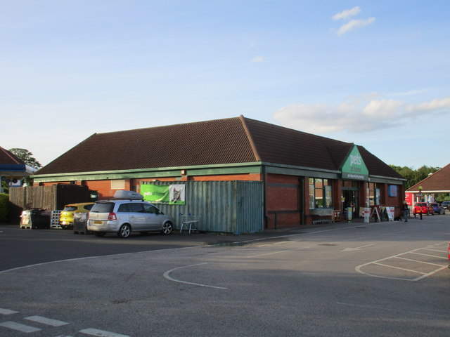 Part of Hewitt's Circus Retail Park
