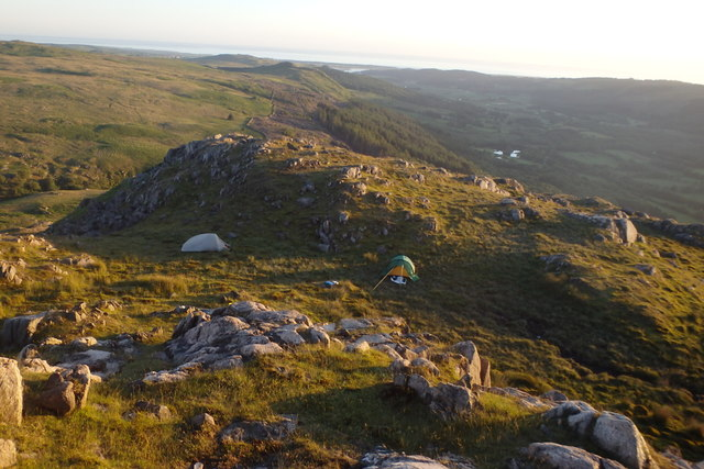 Tents, Brantrake Crags