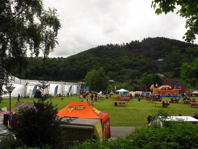 Vangollen - stage area