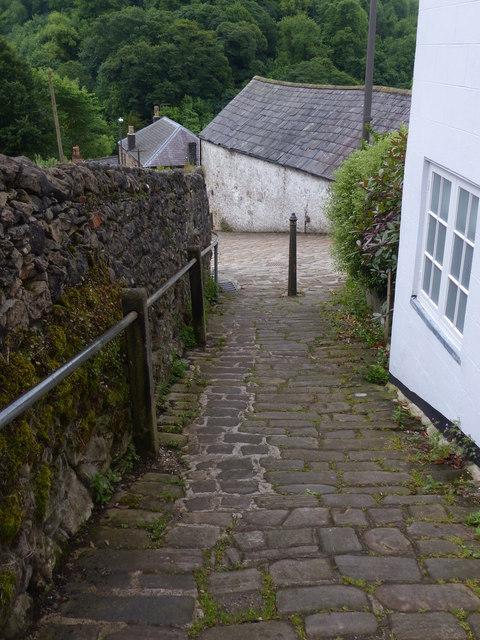 Path in Matlock Bath