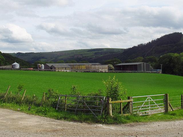 Farm above Pentrefelin