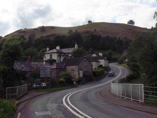 A542 at Pentrefelin