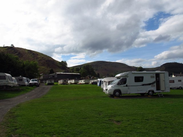 Abbey Farm caravan site