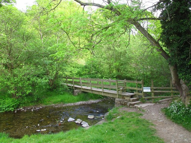 Footbridge over the River Eglwyseg