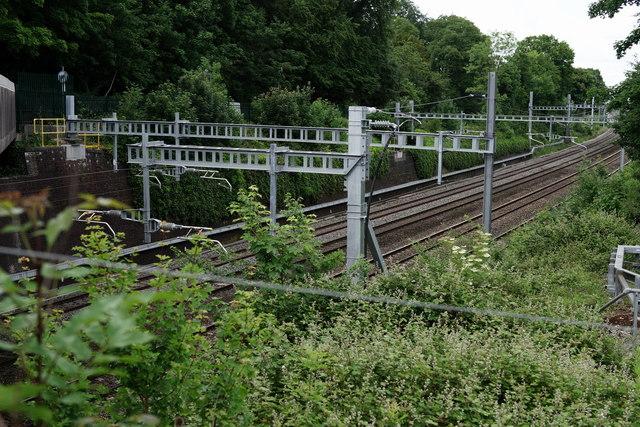 Railway at Lower Basildon