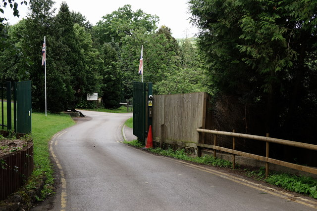 Entrance to Beale Park Wildlife Park