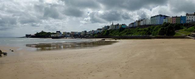 Tenby North beach