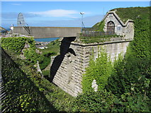 SY6973 : Southern entrance to The Verne prison by Gareth James