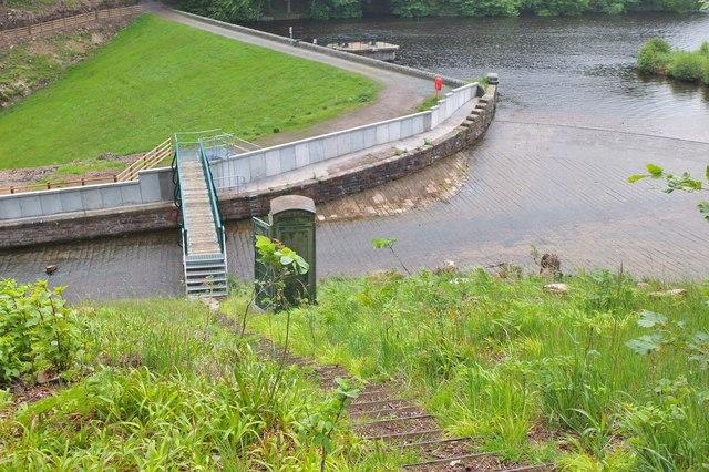 Dam and spillway, Edgelaw Reservoir