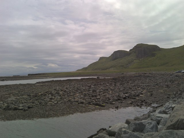Sgeir Bhan seen from Staffin slipway