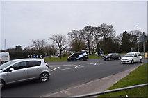 SX5061 : Roundabout, Tavistock Rd by N Chadwick