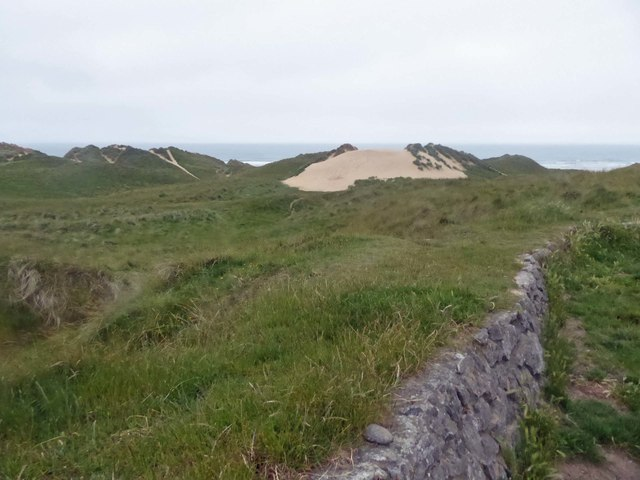 Broomhill Burrows sand dunes