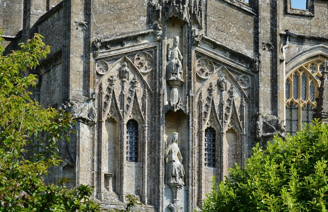 Northleach, St. Peter and St. Pauls' Church: The magnificent c15th Gothic south porch