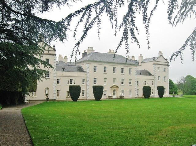The West side of Saltram House, Plympton Devon