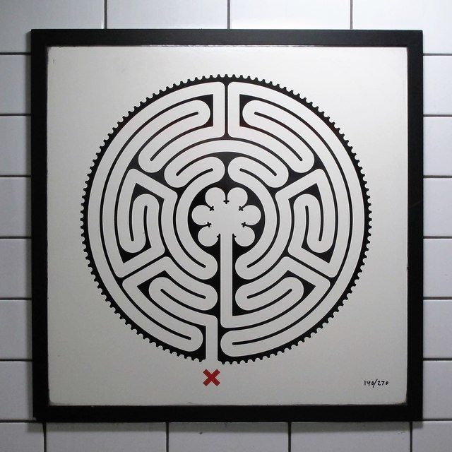 Chancery Lane tube station - Labyrinth 140