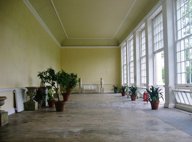 The Orangery at Saltram House, Devon