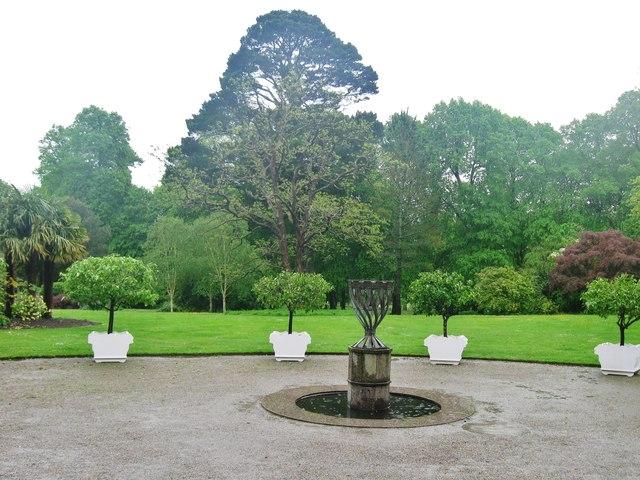 Ornamental Gardens at Saltram House