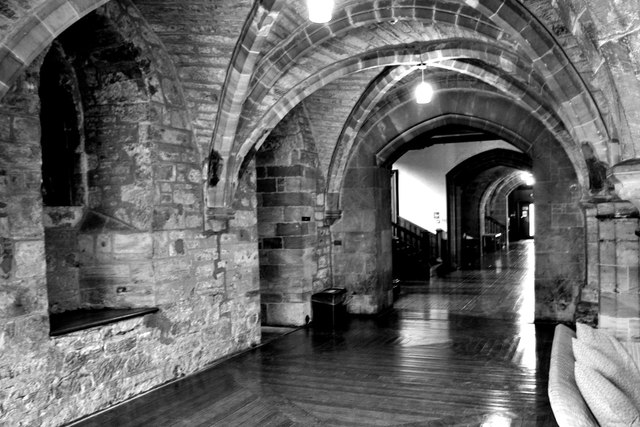 Undercroft at Newbattle Abbey