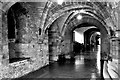 NT3366 : Undercroft at Newbattle Abbey by Tiger