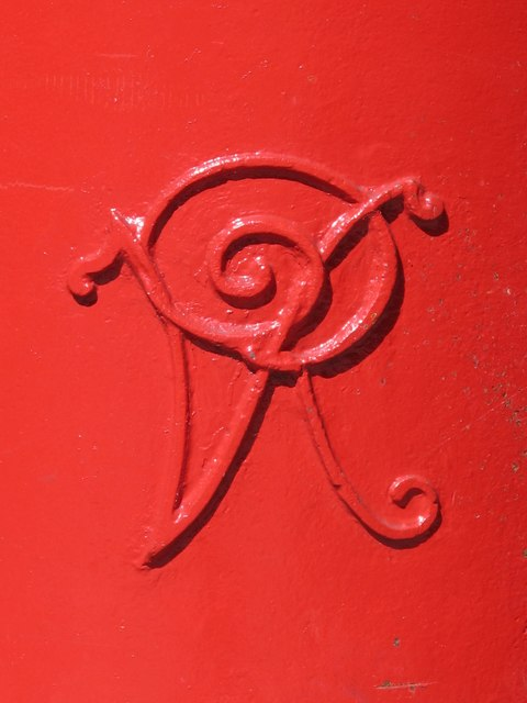Victorian postbox, Rosebery Avenue, EC1 - royal cipher