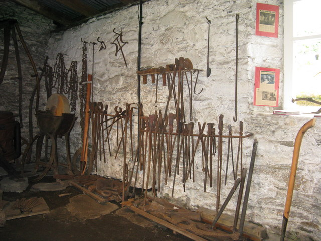 Tools in Strachur smiddy