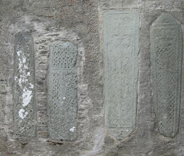 Grave slabs at Strachur