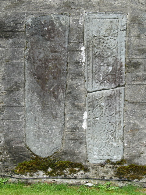 Grave slabs at Strachur
