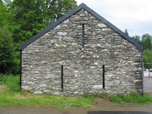 Gable at Strachur