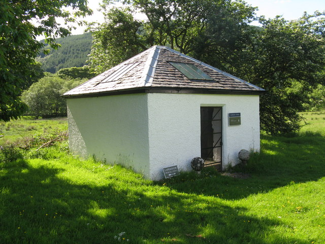 Lapidarium at Clachan of Glendaruel