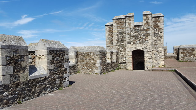 Top of Great  Tower, Dover Castle