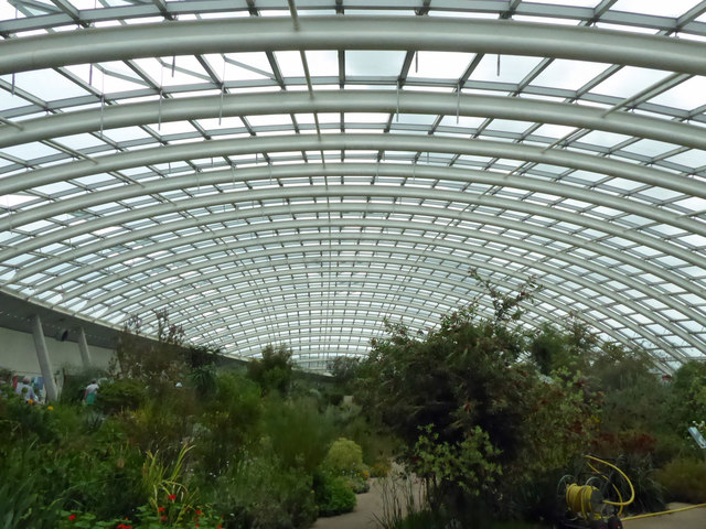 The great glass house National Botanic Garden of Wales