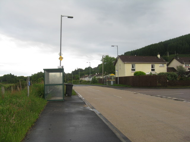The A815 at Sandhaven