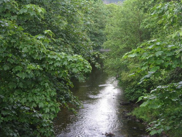 The Little Eachaig River