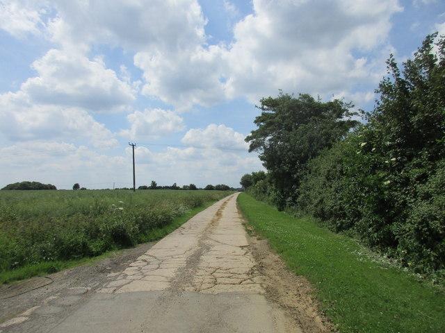 Bridleway to Steane