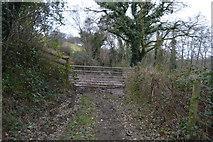 SX4861 : Gated path by N Chadwick